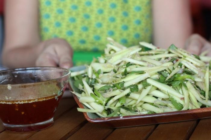 Green Mango salad2