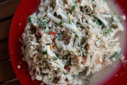 Jicama salad 2
