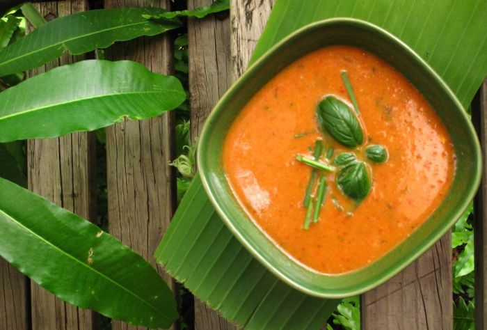 pumpkin and coco soup