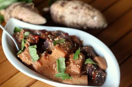 Taro curry (Erin recipe)