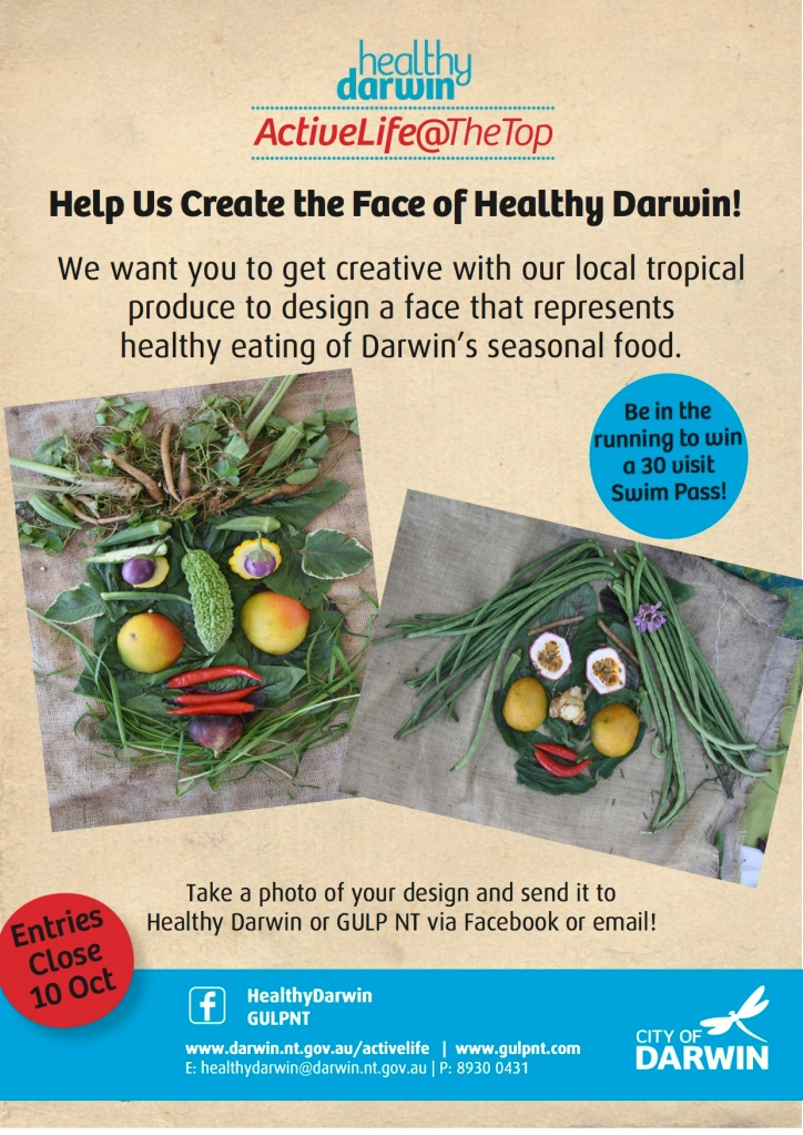Face of Healthy Darwin Flyer