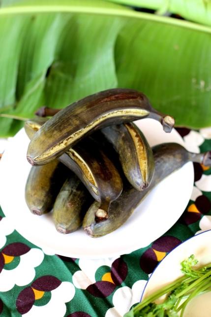 split plantain