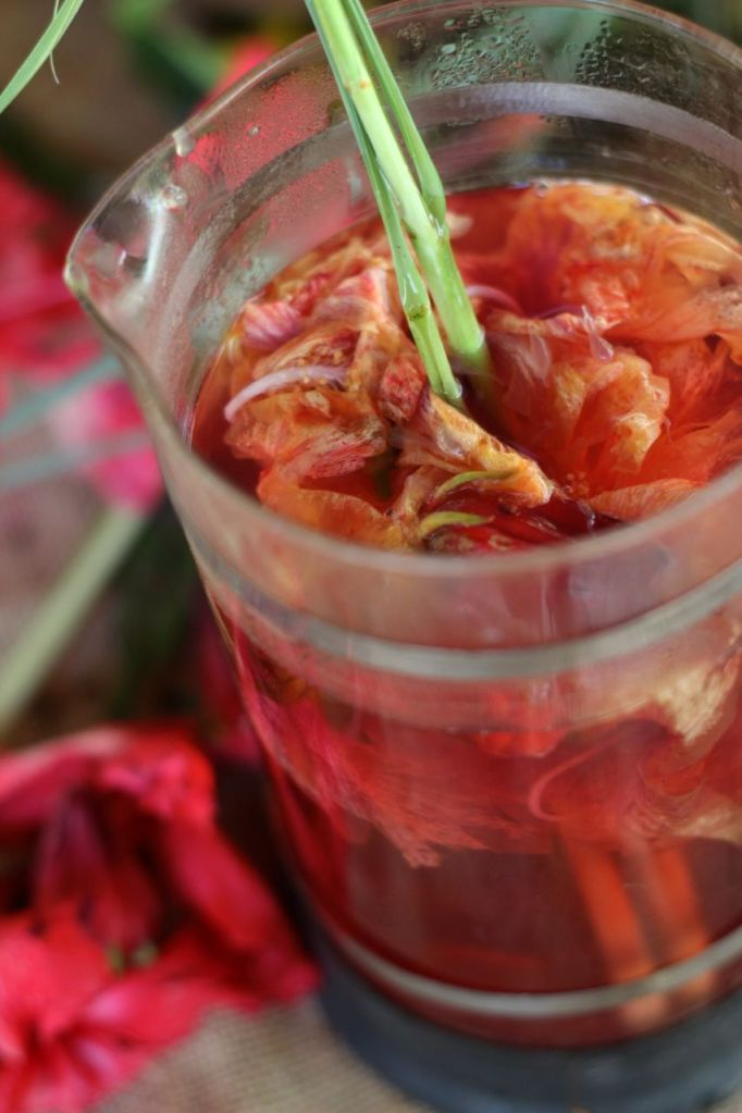 Hibiscus lemongrass tea